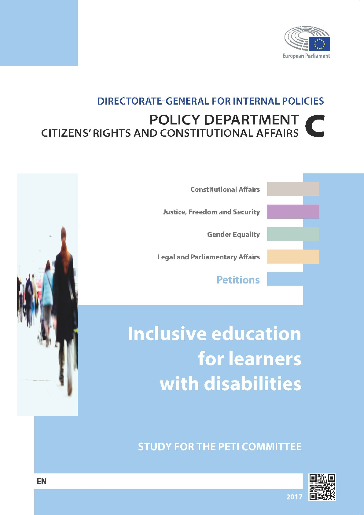 Inclusive education for learners with disabilities