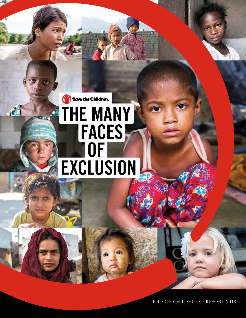 End of childhood report, the many faces of exclusion