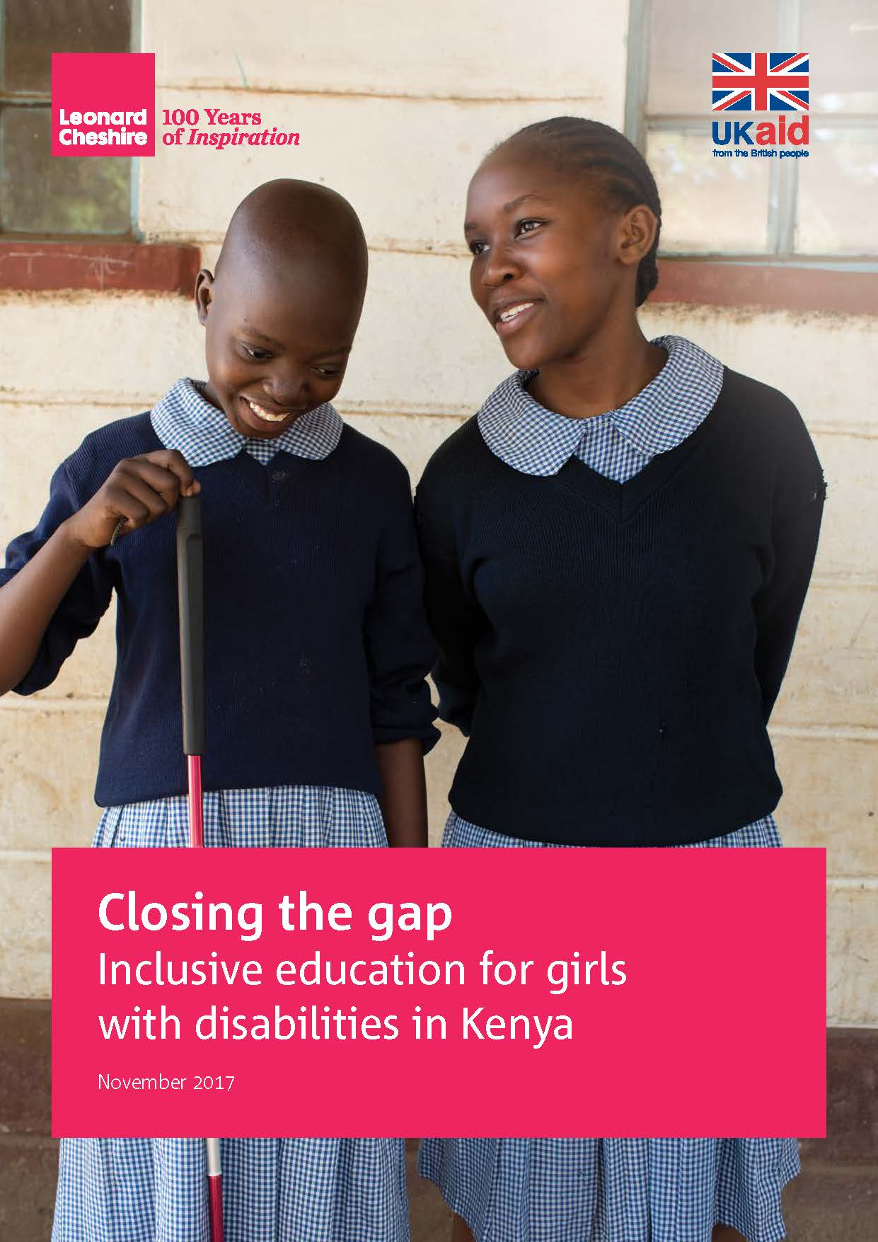 Closing the gap Inclusive education for girls with disabilities in Kenya