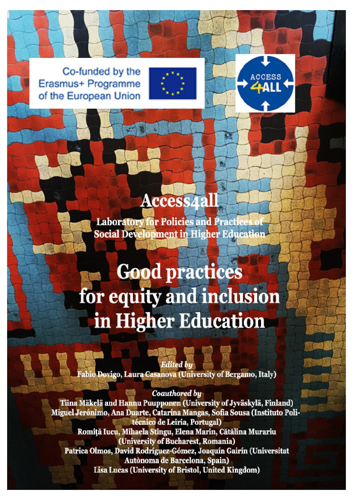 Good practices for equity and inclusion in Higher Education.