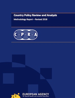 Blue cover of report