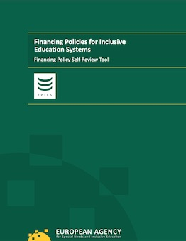Green cover of report